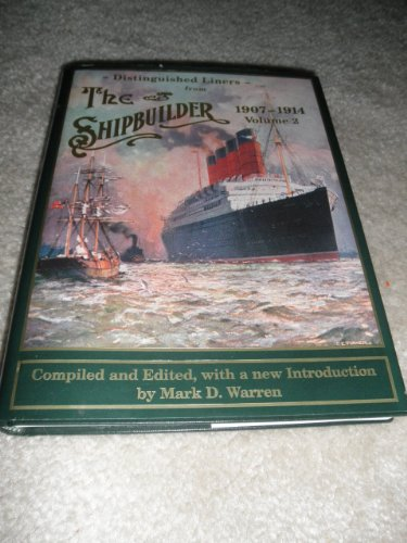 9780964815315: Distinguished Liners from the Shipbuilder,1907-1914