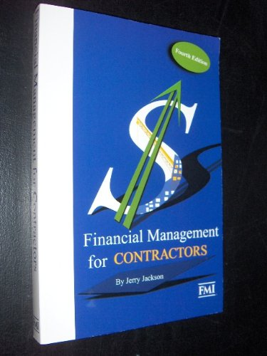 9780964825598: Financial management for contractors