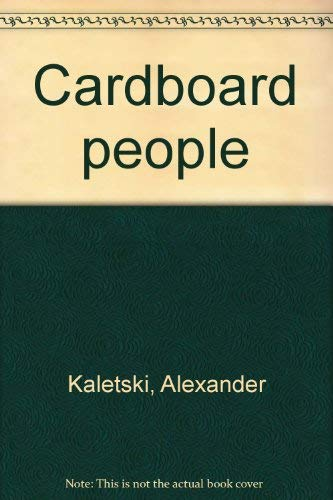 9780964834026: Cardboard people