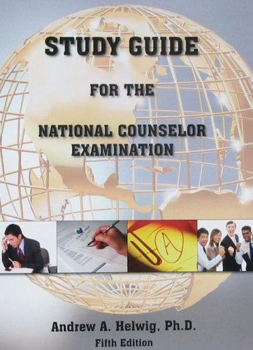 9780964837744: Study Guide for the National Counselor Examination