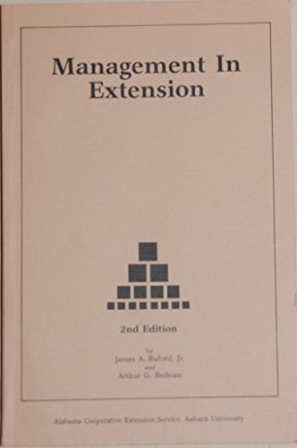Management in extension: James Ansel Buford;