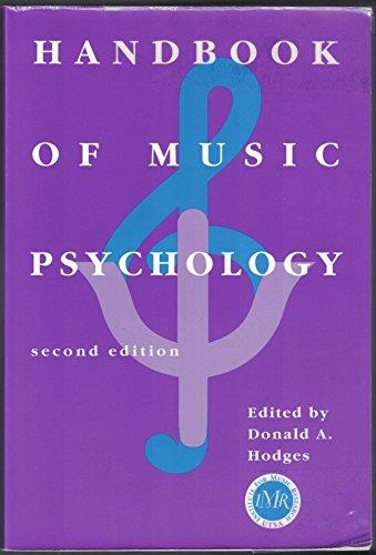 9780964880306: Handbook of Music Psychology
