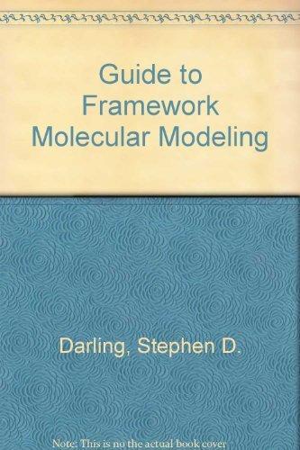 9780964883703: Guide to Framework Molecular Modeling