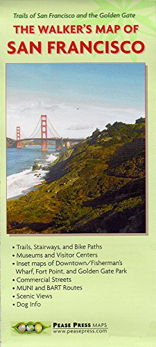 9780964914377: The Walker's Map Of San Francisco