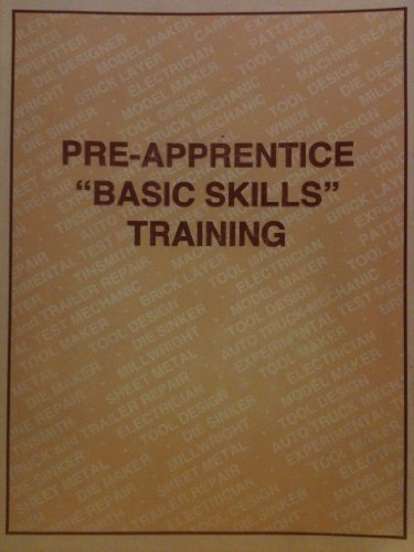 "Pre-apprentice ""basic skills"" training: Jack R Martin"