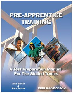 9780964953017: Pre-Apprentice Training : A Test Preparation Manual for the Skilled Trades