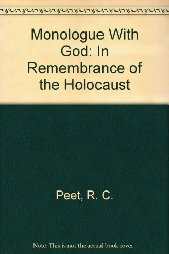 9780964987104: Monologue With God: In Remembrance of the Holocaust