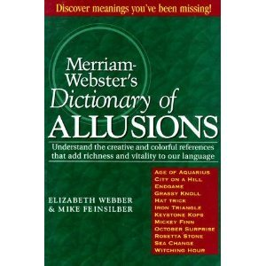 9780965024525: Merriam-Webster's Dictionary of Allusions,
