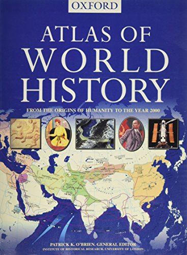 9780965025577: Atlas of World History: From the Origins of Humanity to the Year 2000