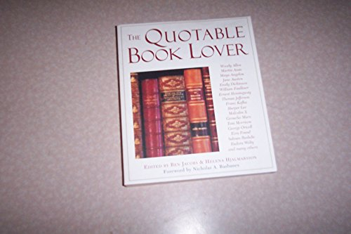 9780965030403: Quotable Book Lover
