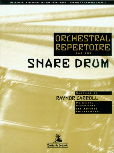 9780965032247: Orchestral Repertoire for the Snare Drum