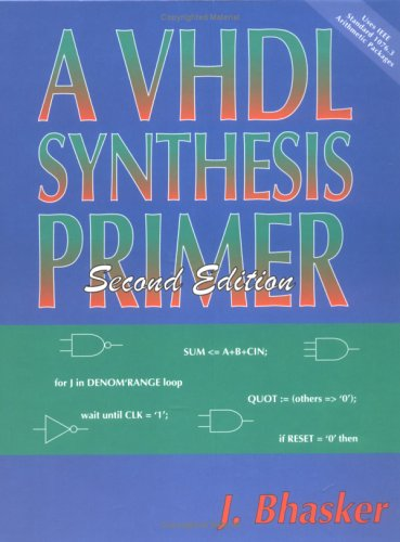 9780965039192: A VHDL Synthesis Primer, Second Edition
