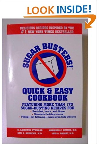9780965045377: Sugar Busters Quick and Easy Cookbook