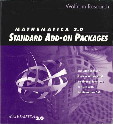 9780965053228: Mathematica 3.0 Standard Add-On Packages