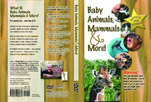 9780965060332: Baby Animals Mammals and More DVD