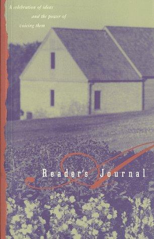 9780965065542: A Reader's Journal
