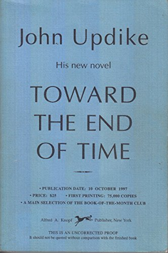 9780965067270: Toward the End of Time