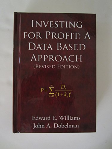 9780965073738: Investing for Profit: A Data Based Approach (Revised Edition)
