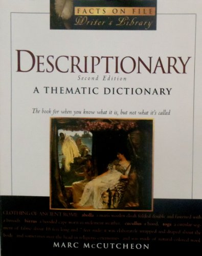 9780965087537: Descriptionary: A Thematic Dictionary; 2nd Edition