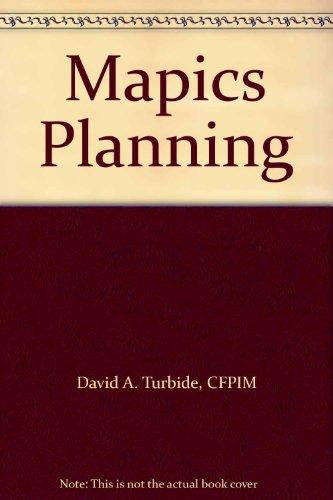 9780965177818: Mapics Planning