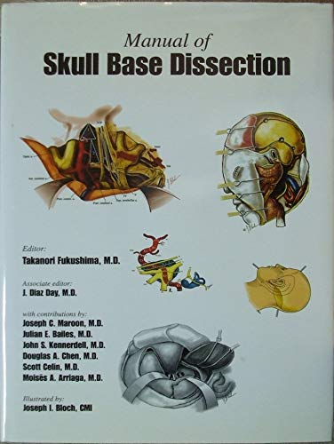9780965198608: Manual of Skull Base Dissection