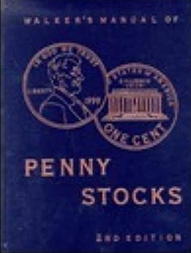 9780965208833: Walker's Manual of Penny Stocks