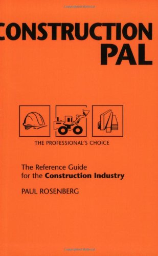 9780965217163: Construction Pal: The Reference Guide for the Construction Industry (Pal Pocket Reference Series)