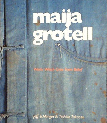 Maija Grotell : Works Which Grow from Belief: Schlanger, Jeff & Takaezu, Toshiko