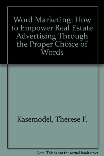 9780965225601 word marketing how to empower real estate