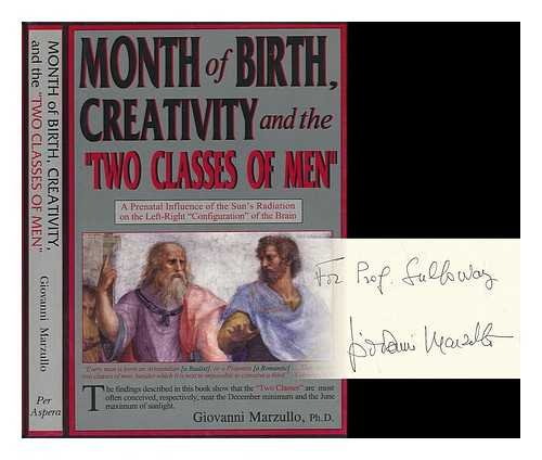 9780965232296: Month of birth, creativity, and the