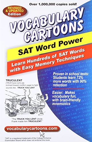 9780965242233: Vocabulary Cartoons, SAT Word Power: Learn Hundreds of SAT Words Fast with Easy Memory Techniques