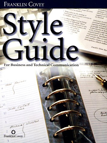 9780965248112: Style Guide: For Business and Technical Communication