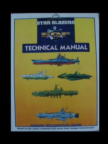 9780965264822: Star Blazers Technical Manual & Warship Recognition Guide