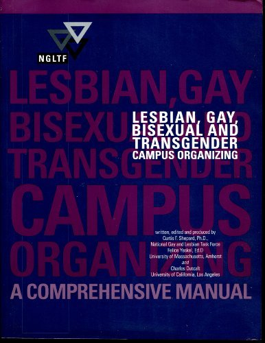9780965277907: Lesbian, Gay, Bisexual And Transgender Campus Organizing -
