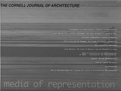 9780965279505: The Cornell Journal of Architecture: Media of Representation No. 5