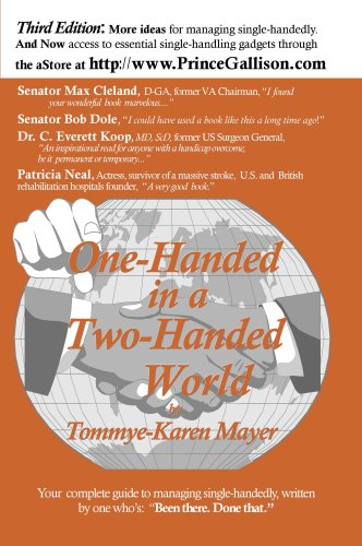 9780965280532: One-Handed in a Two-Handed World, 3rd Edition