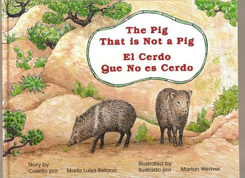 9780965292085: The Pig That is Not a Pig /El cerdo que no es cerdo (English and Spanish Edition)