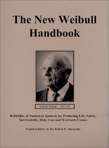 9780965306218: The New Weibull Handbook,Fourth Edition, Subtitle, Reliability & Statistical Analysis for Predicting Life, Safety, Survivability, Risk, Cost and Warranty Claims