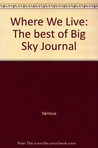 Where We Live: The best of Big: Various