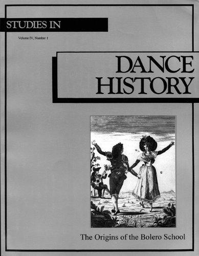 9780965351959: The Origins of the Bolero School (Studies in Dance History)
