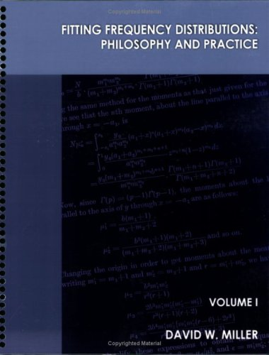 9780965353434: Fitting Frequency Distributions: Philosophy and Practice Set