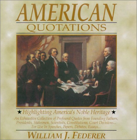American Quotations (0965355713) by William J. Federer