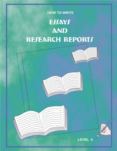 Essays and Research Reports - Level A: Kimberley Nash