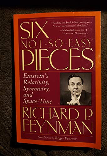 9780965379748: Six Not-So-Easy Pieces: Einstein's Relativity, Symmetry, and Space-Time