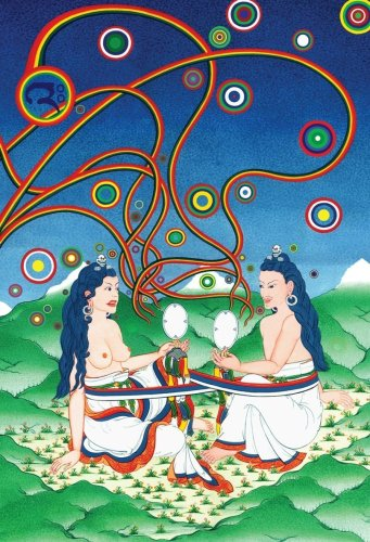Entering the Heart of the Sun and: Khandro Dechen, Ngakpa