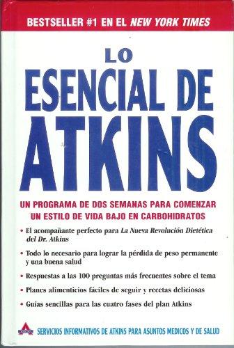 9780965398893: Lo Esencial De Atkins