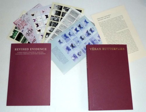 9780965402019: Vera's butterflies: First editions by Vladimir Nabokov inscribed to his wife