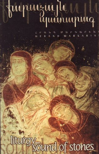 9780965412612: Liturgy-Sound of Stones: English - Armenian