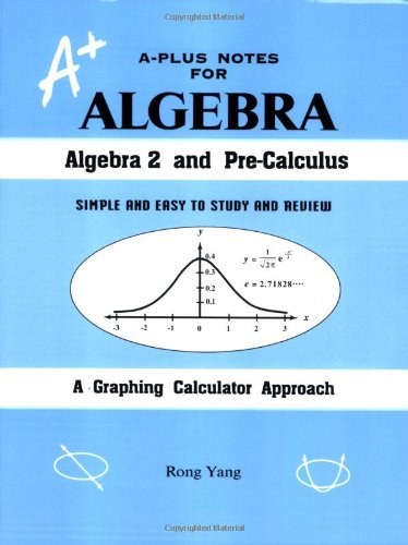 9780965435246: A-Plus Notes for Algebra