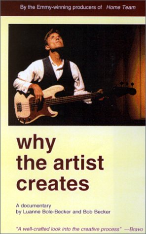 9780965456043: Why the Artist Creates [VHS]